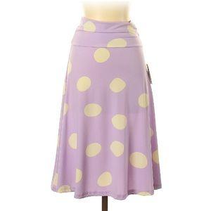 Lularoe Polka Dot Casual Skirt